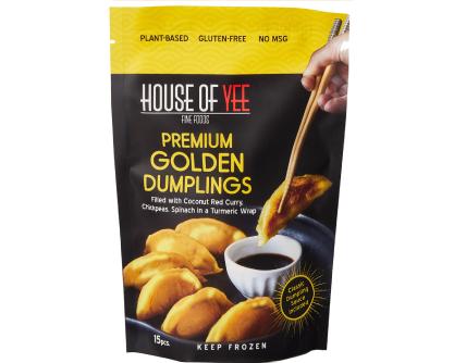 Golden Vegan Dumplings